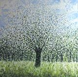 Blue Sky and Blossom - Alison Cowan