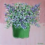 Spring Bouquet on Pink - Alison Cowan