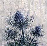 Triple Sea Holly - Alison Cowan