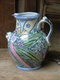 Tin glaze Jug - Jason Shackleton